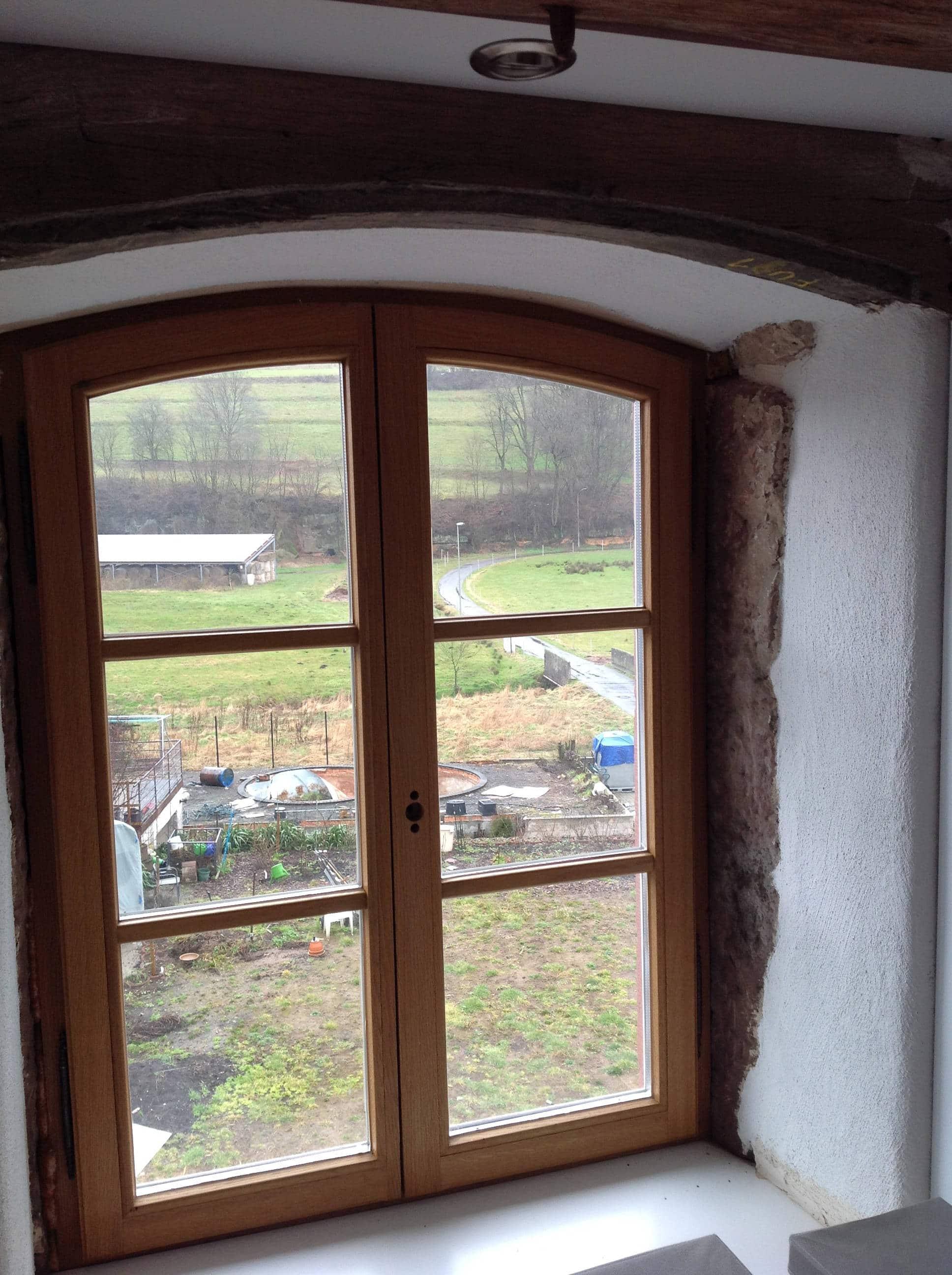 Altbaufenster mit Sprossen