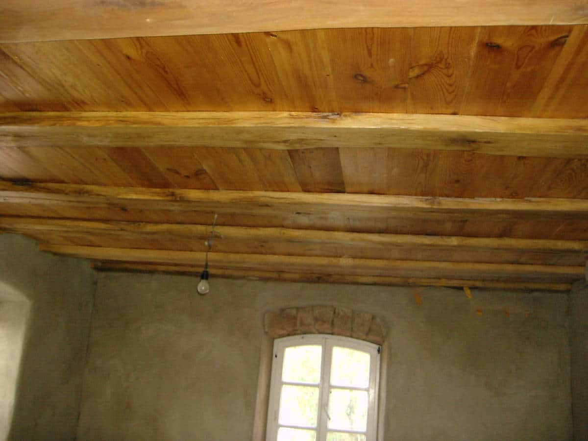 Restauration Holzdecke